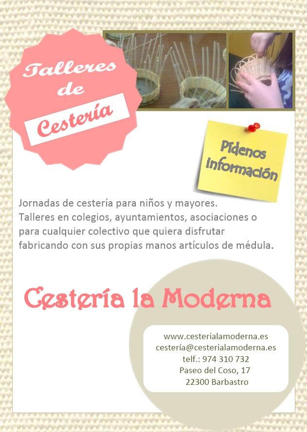 taller cesteria cartel